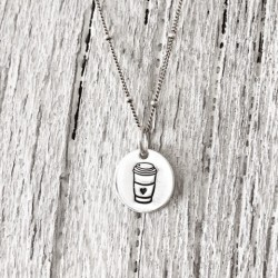 Coffee, Tea or Me Necklace