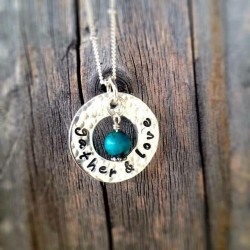 Gather and Love Sweet Circle Necklace