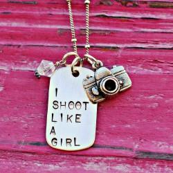 I SHOOT LIKE A GIRL